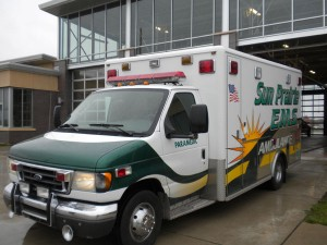 Ambulance donated by city of Sun Prarie, WI