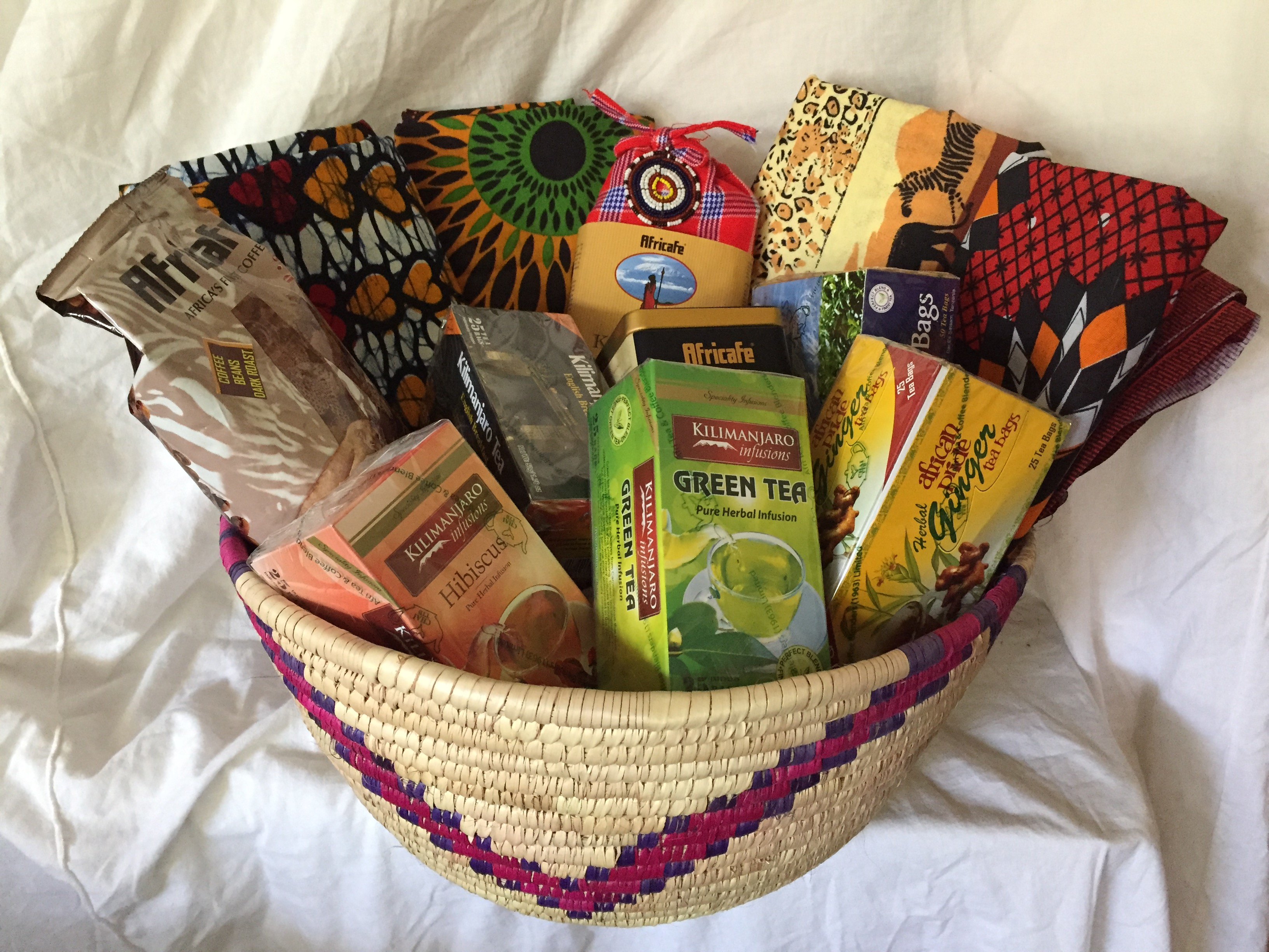 Handmade Baskets From Africa : Quilt expo raffle bringing hope others